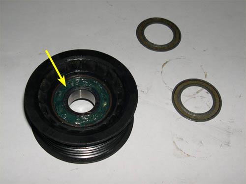 Serpentine Belt Pulley Bearing Noise : Serpentine belt