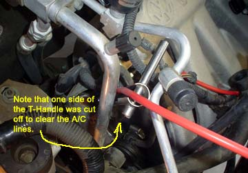 Spark plugs ignition wires problem because of the ac lines that are in the way along with some vacuum lines and some electrical connections you can temporarily remove the publicscrutiny Choice Image